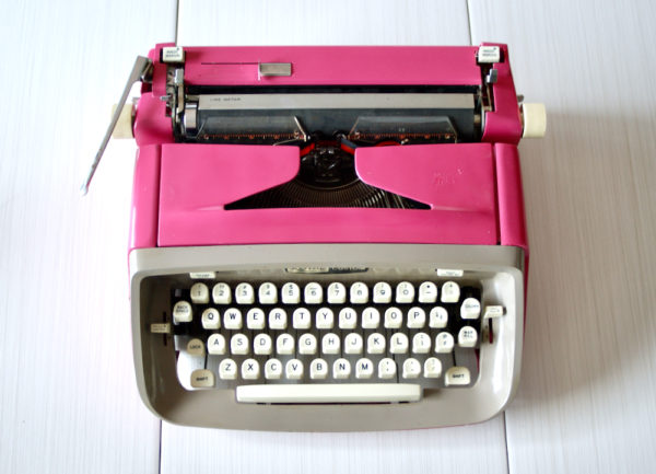 royal custom typewriter jot and tittle vintage typewriters