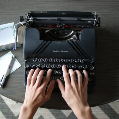 Typewriters 101: The basics of using a typewriter