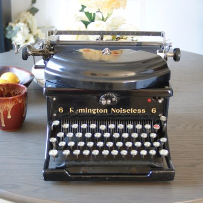 1931 Remington Noiseless Vintage Typewriter