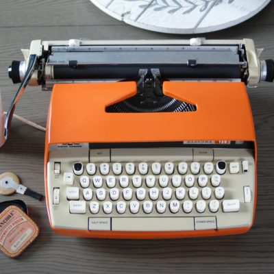 1960s Sunset Orange Electra 12