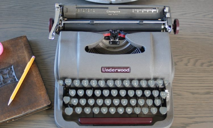 1949 underwood typewriter