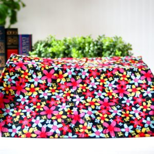 Multi floral typewriter dust cover
